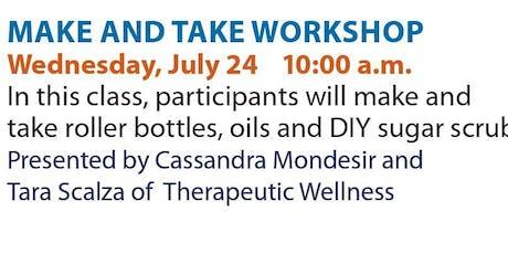 Wellness Wednesdays - Make&Take Workshop tickets