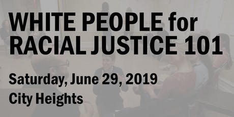 White People for Racial Justice 101 (June 2019) tickets