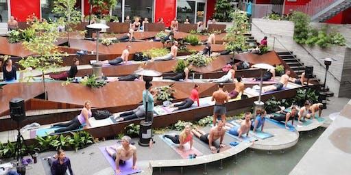 July Yoga + Brunch at insideOUT in Hillcrest