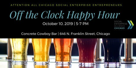 "SEA Chicago ""Off the Clock Happy Hour"" October 2019 tickets"