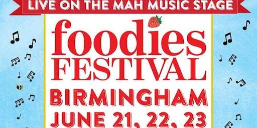 Foodies Festival Birmingham - Jason Battersby