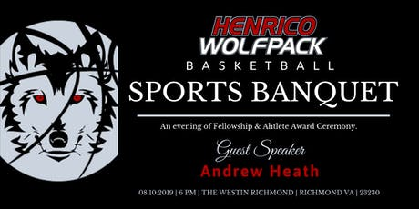 Henrico Wolfpack Annual Sports Banquet tickets