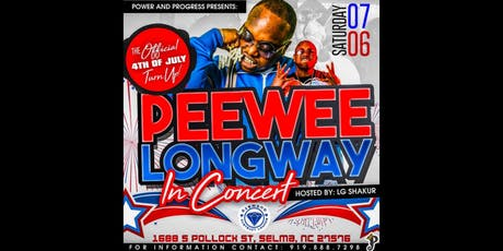 Peewee Longway July 6th 2019 tickets