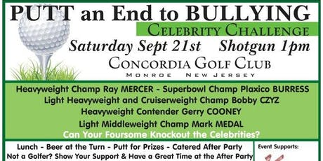 Putt an End to Bullying / Celebrity Golf Challenge tickets