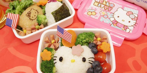 DELICIOUS LITTLE TOKYO: LIVE Bento Box Demo with Table for Two