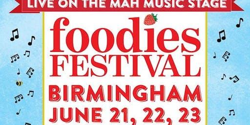 Foodies Festival Birmingham -  Nick Haslam Band