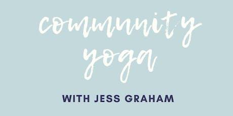 Community Yoga with Jess Graham tickets