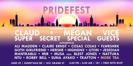 PrideFest 2019 tickets