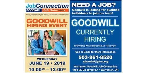 Goodwill is Hiring! - Warrenton - 6/19/19
