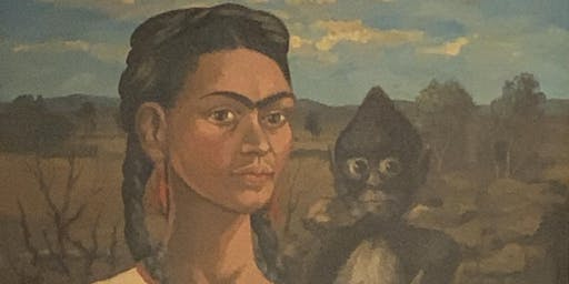 FREE ADMISSION - ART GALLERY EXHIBITION - ORIGINAL FRIDA KAHLO PAINTING