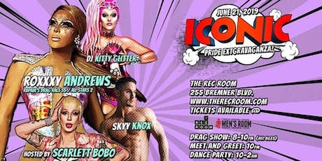 Iconic! Pride Extravaganza feat. Kitty Glitter & Roxxxy Andrews tickets