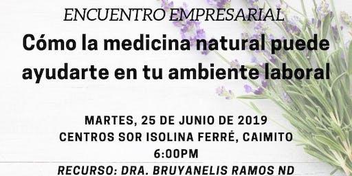 Cómo la medicina natural puede ayudarte en tu ambiente laboral