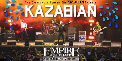 Kasabian - The Official & Number One Tribute 'Kazabian'