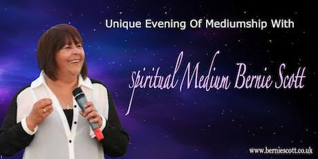 Evidential Evening Of Mediumship with Bernie Scott tickets