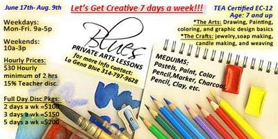 Blue's Private Art Lessons