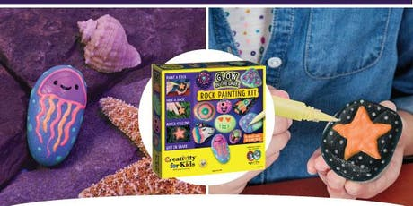 Learning Express Glow Rock Painting Playdate tickets