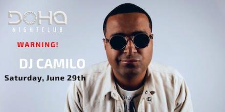DJ Camilo Live At Doha Nightclub NYC tickets