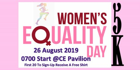 Womens Equality Day 5K tickets