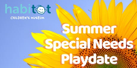 Free Summer Playdate for Children with Special Needs tickets