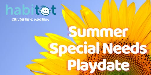 Free Summer Playdate for Children with Special Needs