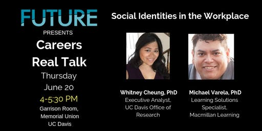 FUTURE Careers Real Talk - Social Identities in the Workplace