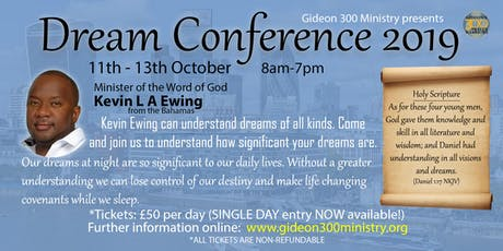 Dream Conference 2019 London tickets