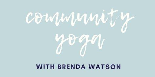 Community Yoga with Brenda Watson