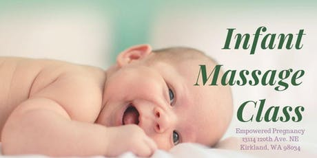 Free Infant Massage Class tickets