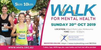 Walk for Mental Health 2019
