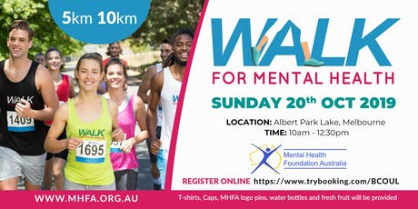 Walk for Mental Health 2019 tickets