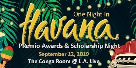 HPRA-LA PRemio Awards & Scholarship Night 2019 tickets