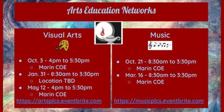 Arts Education - Professional Learning Community Meetings - Music tickets