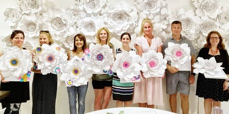 Flower Paper Design with Kirby-Jay tickets