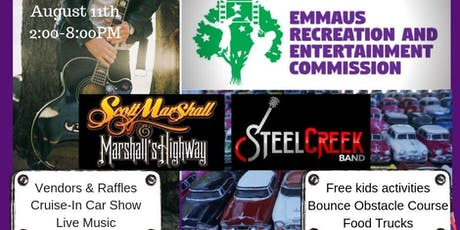 Emmaus Recreation and Entertainment Commission - Cruise-In Car Show tickets