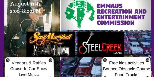 Emmaus Recreation and Entertainment Commission - Cruise-In Car Show