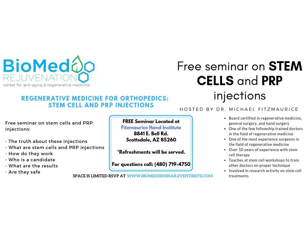 BioMed Rejuvenation Seminar