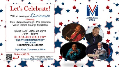 Dr. Valerie McCray Fundraiser - 2020 Presidential Candidate tickets