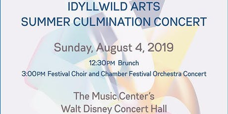 Idyllwild Arts Summer Culmination Concert 2019 tickets
