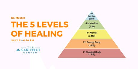5 Levels of Healing tickets