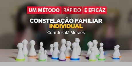 CONSTELAÇÃO INDIVIDUAL com Josafá Moraes (atual) ingressos