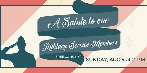 A Salute to Our Military Service Members
