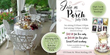 High Tea on the Porch tickets