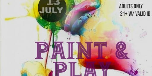 Adult Paint & Play