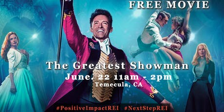 """""""The Greatest Showman"""" FREE MOVIE ON US! tickets"""