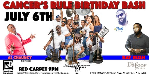 Cancer's rule Birthday Bash