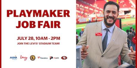 Playmaker Job Fair at Levi's Stadium 7-28-19 tickets