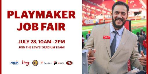 Playmaker Job Fair at Levi's Stadium 7-28-19