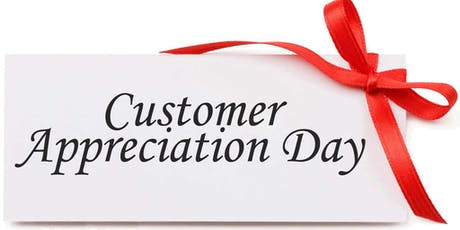2019 Customer Appreciation Days Friday, August 2nd - Saturday, August 3rd tickets