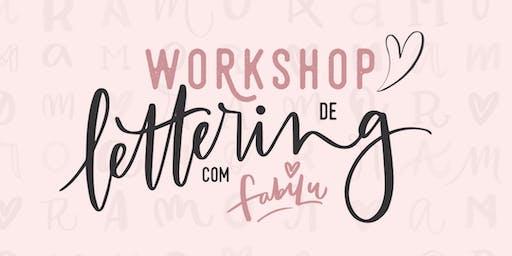 WORKSHOP DE LETTERING COM FABILU ♥ SP