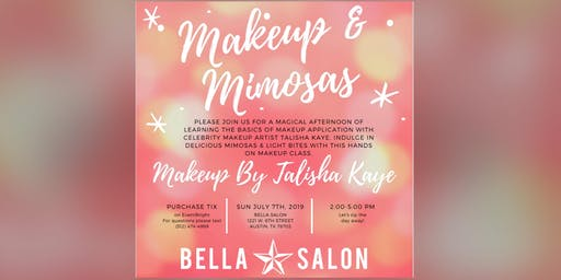 Makeup By Talisha Kaye's Makeup & Mimosas Hands On Class